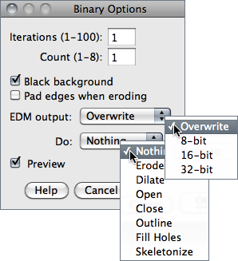 Imagej binary options