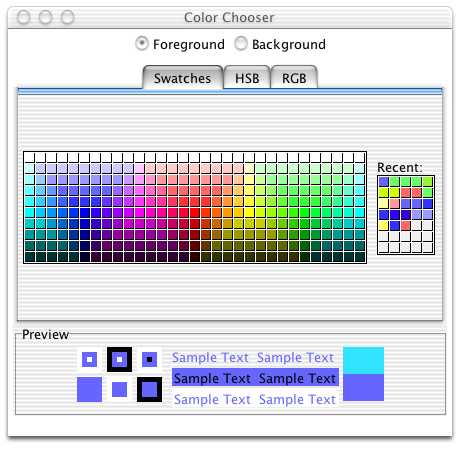 Color Chooser