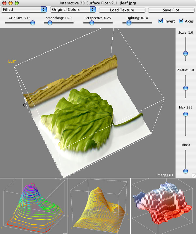 Interactive 3D Surface Plot